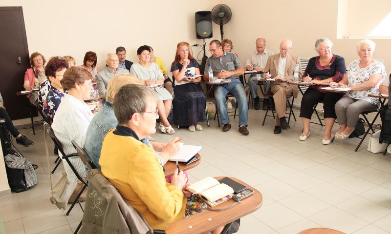Обсуждение в областном совете ветеранов.