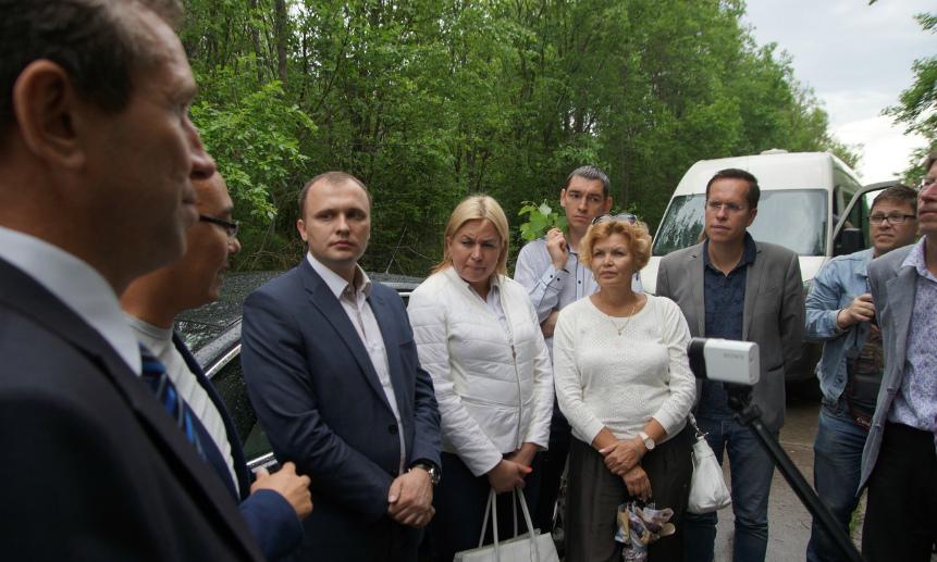 Горсовет Северодвинска провёл выездное совещание с участием министра Ерулика и представителя регоператора.