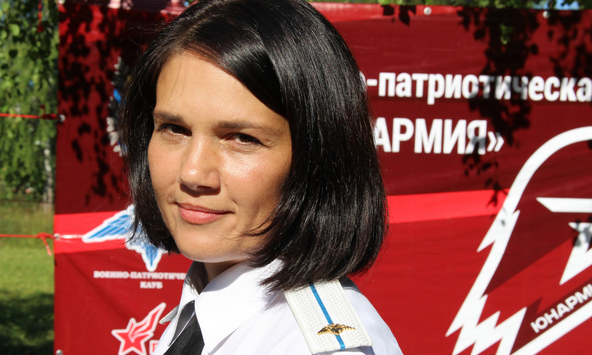 Руководитель военно-патриотического клуба «Орден» Светлана Власова.