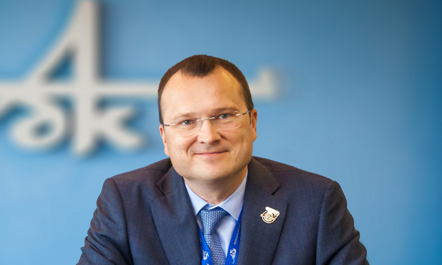 Генеральный директор АЦБК Дмитрий Зылёв.