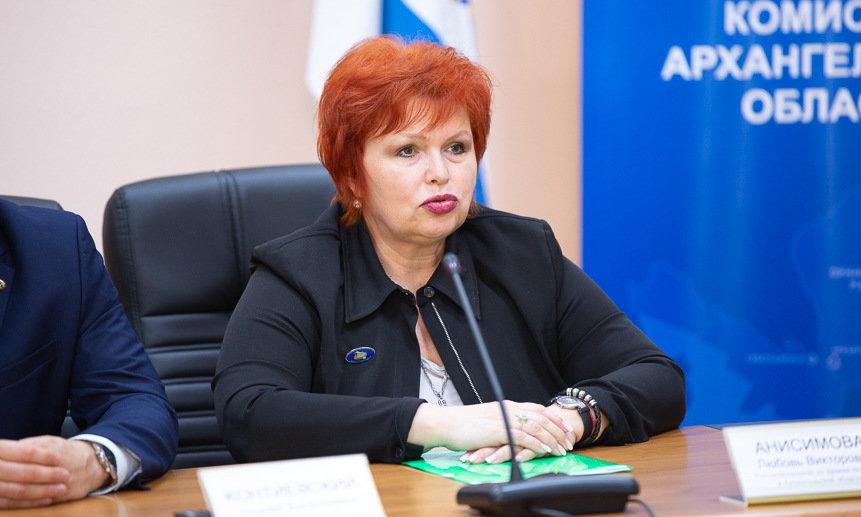 Любовь Анисимова.